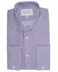 Paradigm By Double Two Formal Shirt Purple