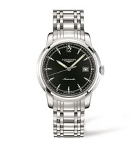 Longines Saint Imier Contrast Face Watch Unisex Black