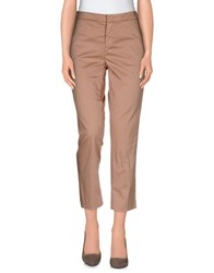 Sonia De Nisco Trousers Casual Trousers Women Camel