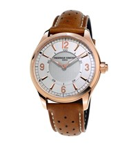 Frederique Constant Notify Horological Smartwatch Unisex Brown