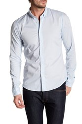 Scotch And Soda Classic Slim Fit Shirt Blue