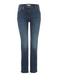 Dickins And Jones Beatrix Bootcut Jean Denim Mid Wash