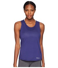 Marmot Aero Tank Top Deep Dusk Sleeveless Purple