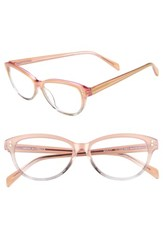 Corinne Mccormack Marley 52Mm Reading Glasses Pink Grey Pink Grey