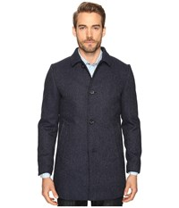7 Diamonds Parque Jacket Navy Men's Coat
