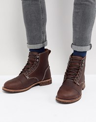 Dickies Knoxville Lace Up Boots Brown