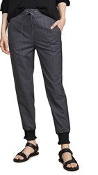 3.1 Phillip Lim Joggers With Piping Light Grey Melange