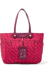 Marc By Marc Jacobs Clara Printed Shell Tote Fuchsia