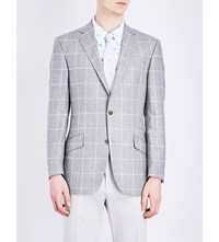 Richard James Silk And Wool Blend Jacket Grey
