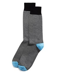 The Men's Store At Bloomingdale's Stripe Socks Black