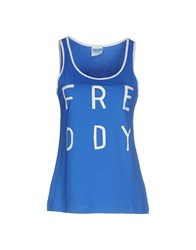 Freddy Topwear Vests Women Blue