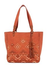 Steve Madden Bree Faux Leather Tote Red