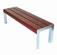 Modern Outdoor 4 Etra Small Bench Multicolor