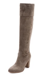 Belle By Sigerson Morrison Honey Suede Knee Boots Vigona