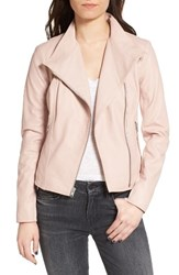 Andrew Marc New York Women's Felicia Asymmetrical Zip Leather Jacket