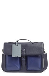 Ted Baker Men's London Quint Leather Satchel