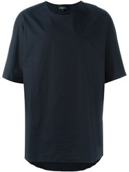 3.1 Phillip Lim Dolman Sleeve T Shirt Blue