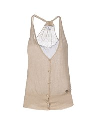Fairly Topwear Tops Women Beige