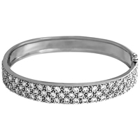 Jools By Jenny Brown Cubic Zirconia Pave Bangle