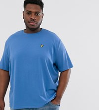 Lyle And Scott Logo T Shirt In Blue