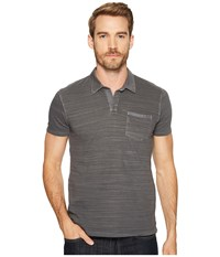 Lucky Brand Johnny Collar Polo Raven Men's Clothing Black