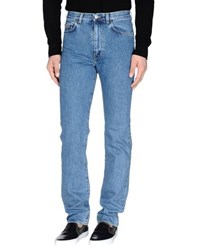 Calvin Klein Jeans Denim Denim Trousers Men Blue