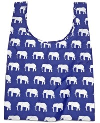 Baggu Standard Reusable And Packable Shopping Bag Elephant Blue