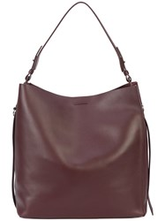 Allsaints All Saints Relaxed Shopping Tote Leather Brown