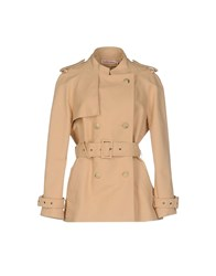 See By Chloe Overcoats Sand