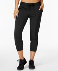 Ideology Woven Cropped Pants Only At Macy's Noir