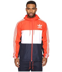 Adidas California Windbreaker Core Red Men's Clothing