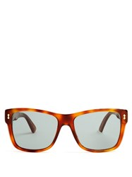 Gucci Tortoiseshell Havana Frame Sunglasses Brown Multi