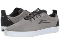 Lakai Bristol Light Grey Charcoal Suede Skate Shoes Gray