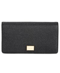 Tignanello Embossed Stingray Clutch Crossbody Black
