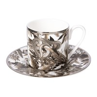 Roberto Cavalli Tropical Jungle Coffee Cup And Saucer White