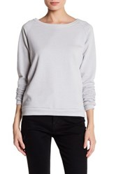Alternative Apparel Dash Terry Pullover Metallic