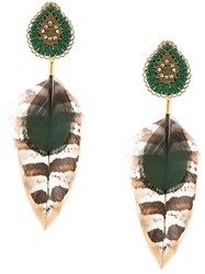 Mercedes Salazar Moon Drop Earrings 60
