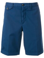 Incotex Chino Shorts Blue