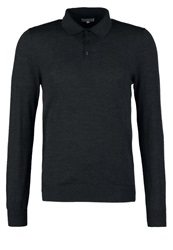 Reiss Mansion Jumper Charcoal Dark Gray