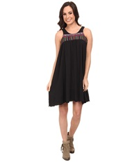 Rock And Roll Cowgirl Sleeveless Dress Black Women's Dress