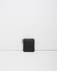Comme Des Garcons Luxury Zip Wallet Black