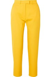 House Of Holland Twill Tapered Pants Yellow