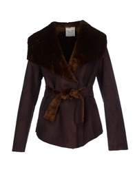 Giorgia And Johns Jackets Dark Brown