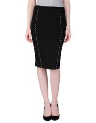 Gattinoni Knee Length Skirts Black