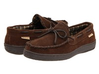 L.B. Evans Marion Chocolate Suede Men's Slippers Brown