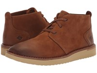 Sperry Camden Oxford Chukka Burnished Tan Shoes