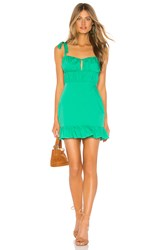 Lovers Friends Tori Mini Dress Green