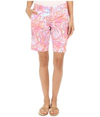 Lilly Pulitzer Chipper Shorts Pink Pout Too Much Bubbly Women's Shorts