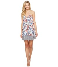 Brigitte Bailey Greer Spaghetti Strap Printed Dress Multi Women's Dress