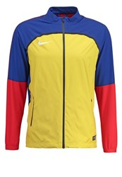 Nike Performance Revolution Tracksuit Top Varsity Maize Deep Royal Blue White Yellow
